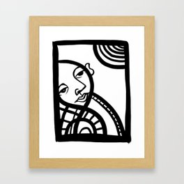 Sun Bath [Jordan E. Eismont] Framed Art Print