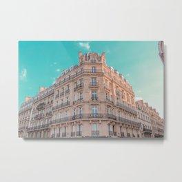 Arhitecture of Paris, France Metal Print