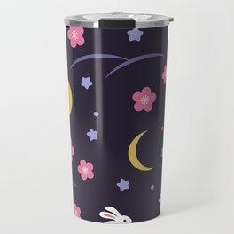 Moon Rabbits V2 Travel Mug
