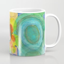 A closer Look at the Flower  Universe Coffee Mug