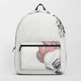 JennyMannoArt GRAPHITE DRAWING/Gretchen Backpack