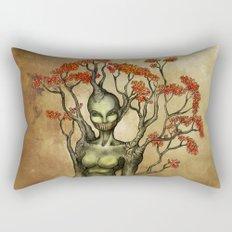 Crimson Dryad Rectangular Pillow