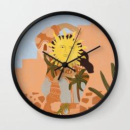 Soul full of sunshine Wall Clock