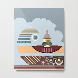 Capitol Hill Washington Metal Print
