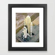 KENNEDY SPACE CENTER Framed Art Print