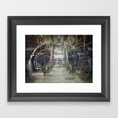 Trapped in a Moment Framed Art Print