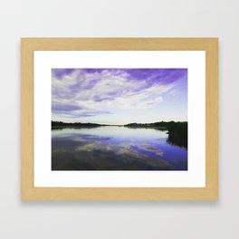 Summer Sunsets Framed Art Print