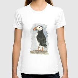 Atlantic Puffin - Watercolor T-shirt