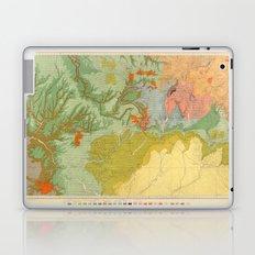 Vintage Southwest Map Laptop & iPad Skin