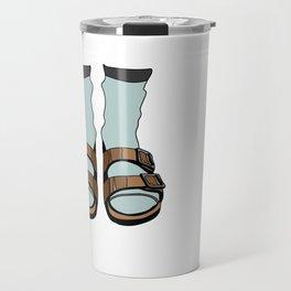 Birkenstocks Travel Mug