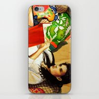 reading iPhone & iPod Skins featuring Reading by Madelyne Joan Templeton