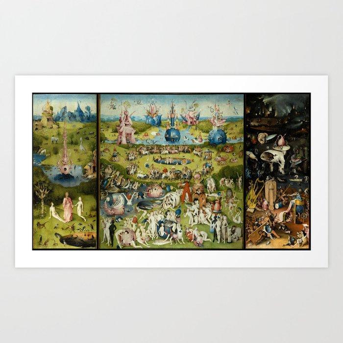 Hieronymus Bosch The Garden Of Earthly Delights Kunstdrucke