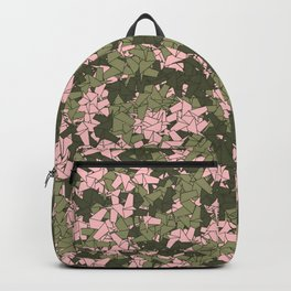 Origami Unicorn Camo PINK Backpack