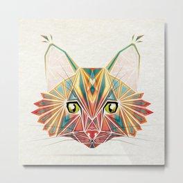 savage cat Metal Print
