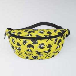 Yellow Swears, Medium Print Fanny Pack
