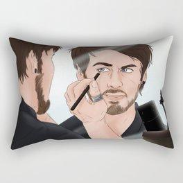 Make Up Time! Rectangular Pillow