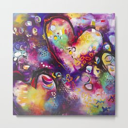 Ready for your Love Metal Print