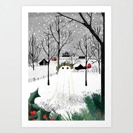 The Holly King Art Print