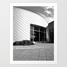 Space Age architecture Art Print