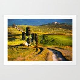 Postards from Italy - Toscany Art Print