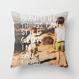 Good Still Grows Throw Pillow