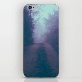 Foggy Road iPhone Skin