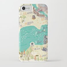 Princess Bride Discovery Map iPhone 7 Slim Case