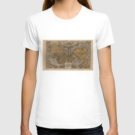 Ancient Map of The World (1531) T-shirt