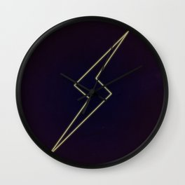 Ms M Neon Wall Clock