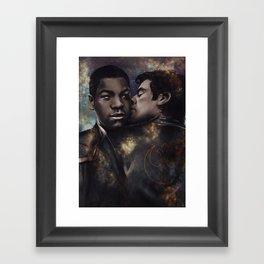 Sapace boyfriends 2 Framed Art Print