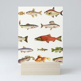 Fishing Line Mini Art Print