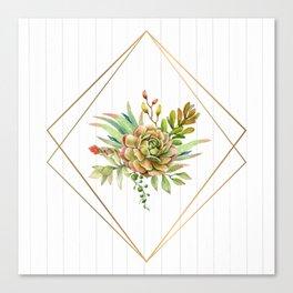 Cactus Bouquet Canvas Print