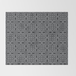 Sharkskin Geometric Pattern Throw Blanket