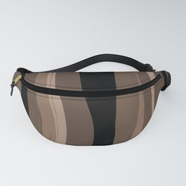 Fantasy Brown and Black Coffee Homedecor Fanny Pack
