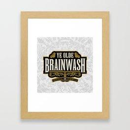 Ye Olde BRAINWASH Framed Art Print
