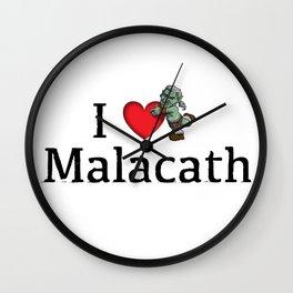 I Love Malacath Wall Clock