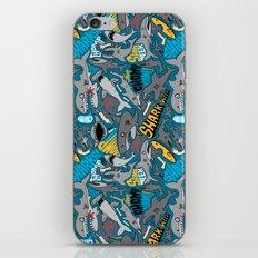 SHARK WEEK! iPhone & iPod Skin