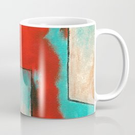 The Corners of My Mind, Abstract Painting Coffee Mug