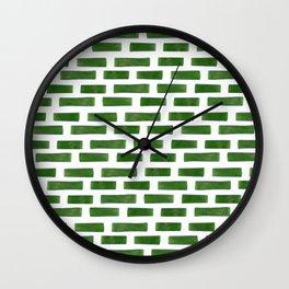 Onion pieces pattern Wall Clock