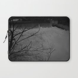 Black Zones of Shadow Laptop Sleeve
