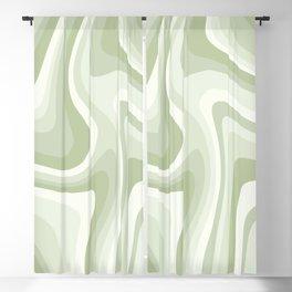 Abstract Wavy Stripes LXXVIII Blackout Curtain