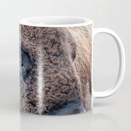OLena Art Bison the Mighty Beast - Bison das mächtige Tier North American Wildlife Coffee Mug