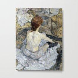 Henri de Toulouse-Lautrec - La Toilette Metal Print