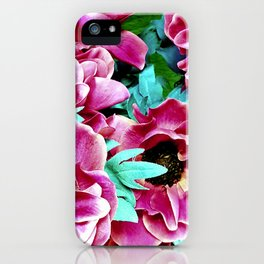 Initiation Flowers iPhone Case