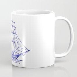Vessel of the Sea going sailing Coffee Mug
