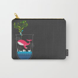 Nature Whale Carry-All Pouch
