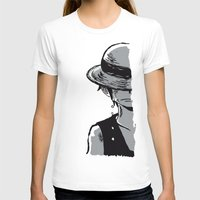 luffy T-shirts featuring Sad Luffy by cici22