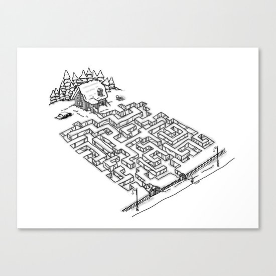 Antisocial Canvas Print