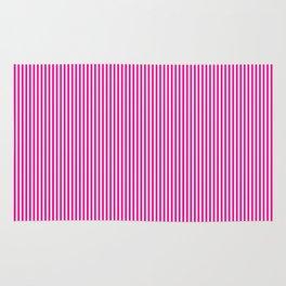 Pink Pinstripes Rug