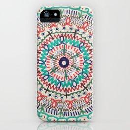 Pin Wheel Mandala iPhone Case